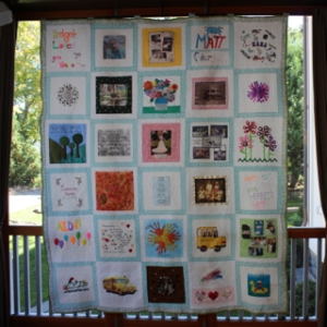 90th Birthday Memory Quilt